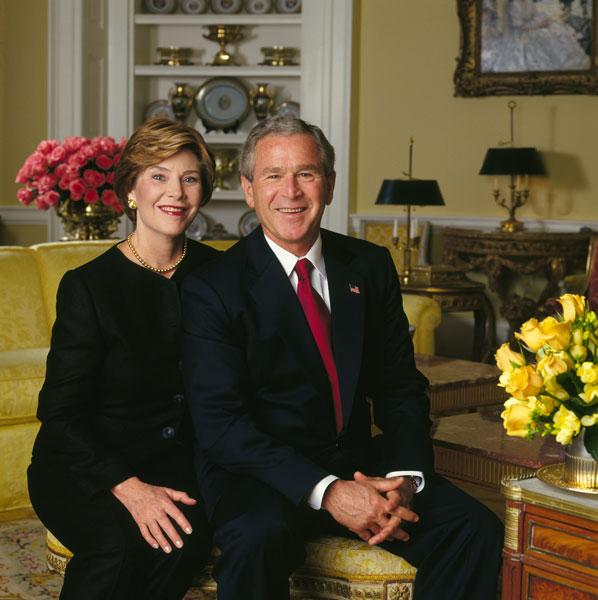 Laura and George W. Bush